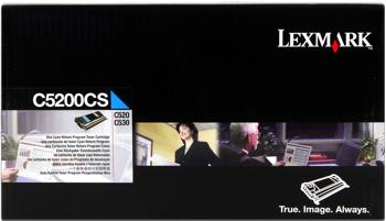 Lexmark 005200cs toner cyano 1.500 pagine