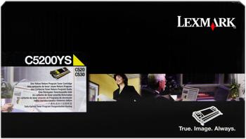 Lexmark 005200ys toner giallo 1.500 pagine