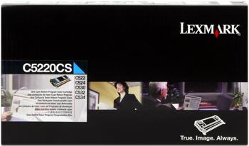 Lexmark 00c5220cs toner cyano, durata 3.000 pagine