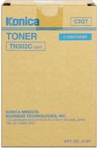 konica Minolta 018p toner cyano