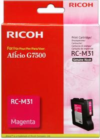 Ricoh 405504 cartuccia magenta