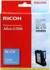 Ricoh 405505 cartuccia cyano