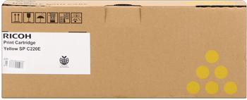 Ricoh 406055 Toner giallo, durata 2.000 pagine