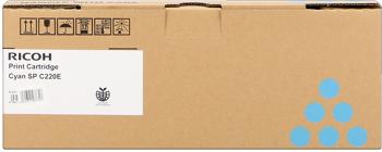 Ricoh 406053 toner cyano, durata 2.000 pagine