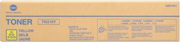 konica Minolta a0d7251 toner giallo, durata indicata 20.000 pagine