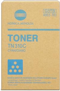 konica Minolta 4053-703 toner cyano, durata 11.500 pagine