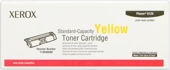 Xerox 113r00690 toner giallo originale, durata indicata 1.500 pagine