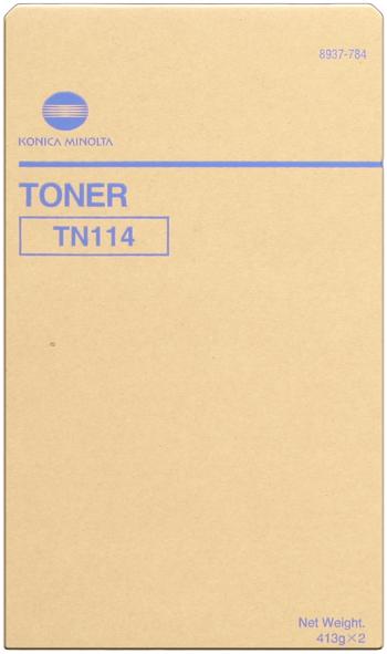 konica Minolta 8937-784 toner originale nero, confezione da 2 pezzi