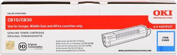 toner e cartucce - 44059107 toner cyano, durata 8.000 pagine