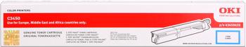 Oki 43459435 toner cyano, durata 1.500 pagine