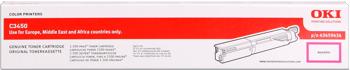 Oki 43459434 toner magenta, durata 1.500 pagine