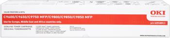 Oki 42918913 toner giallo, durata indicata 15.000 pagine