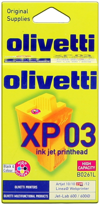 Olivetti B0261 Cartuccia Originale Quadricromia - Resa 620  pagine