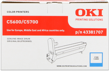 toner e cartucce - 43381907 toner cyano, duratra indicata 2.000 pagine