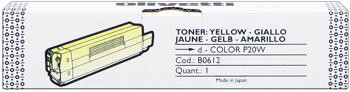 Olivetti b0612 toner giallo, durata 2.000 pagine