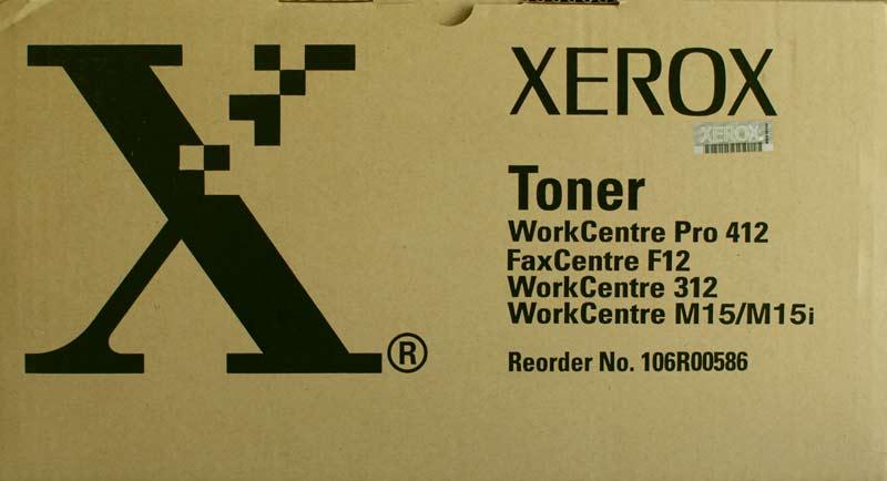 Xerox 106r00580 toner originale