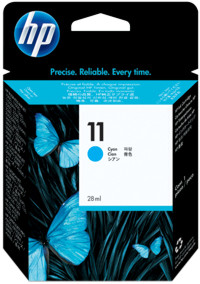 Hp c4836ae cartuccia cyano, capacit� 28ml