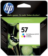 Hp c6657ae cartuccia colore, durata indicata 500 pagine