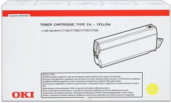 Oki 41963005 toner giallo 10.000 pagine