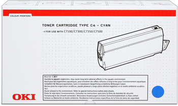 Oki 41963007 toner cyano 10.000 pagine