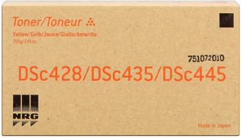 Nashuatec 888357 toner giallo, durata 10.000 pagine