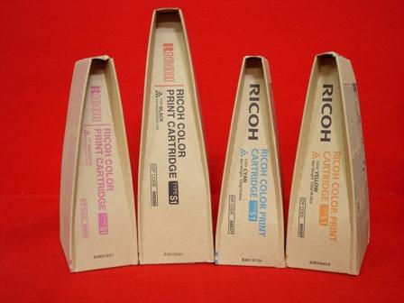 Ricoh 888375 toner cyano, durata 18.000 pagine