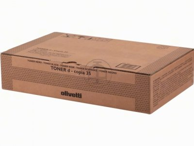 Olivetti b0381 toner originale nero, durata 34.000 pagine