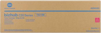 konica Minolta a0dk353 toner magenta, durata 8.000 pagine