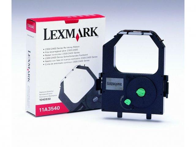 Lexmark 11a3540 nastro nero conf.6pz
