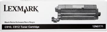 Lexmark 12n0771 toner nero, durata 14.000 pagine