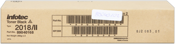 Infotec 89040102 toner originale, confezione 2 pezzi ( 2* 260 gr)