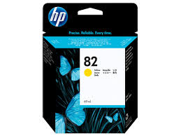 Hp C4913A cartuccia giallo, capacit�  69ml (HP 82)
