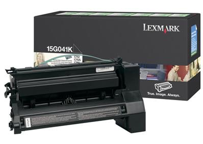 Lexmark 15g041k toner nero, durata 6.000 pagine