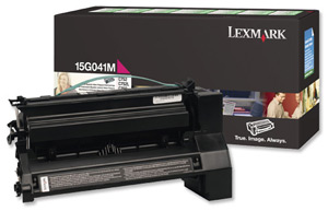 Lexmark 15g041m toner magenta, durata 6.000 pagine