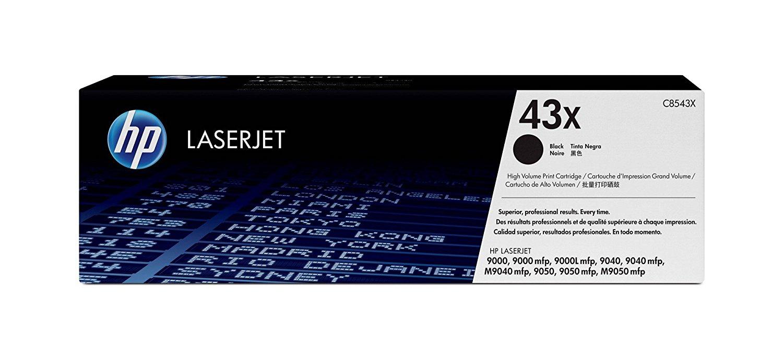 Hp c8543x toner originale nero, durata indicata 30.000 pagine