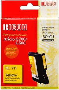 Ricoh 402281 cartuccia giallo 1.150p