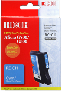 Ricoh 402283 cartuccia cyano 1.150p