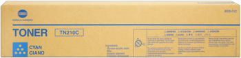 konica Minolta 8938-512 toner cyano, durata 12.000 pagine