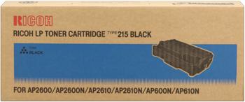 Ricoh 400760 toner originale nero, durata indicata  20.000 pagine