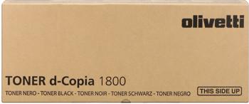 Olivetti b0839 toner originale nero, durata 15.000 pagine