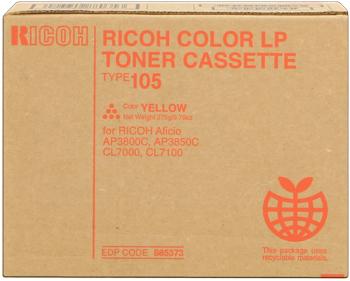 Ricoh 888035 toner giallo 10.000 pagine