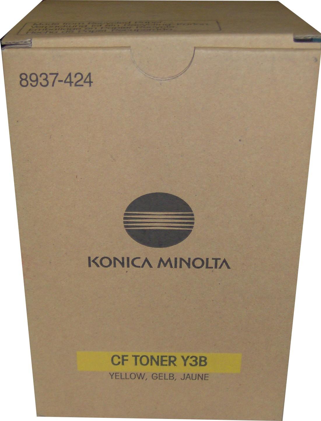 konica Minolta 8937-424 toner giallo 10.000p