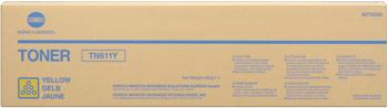 konica Minolta a070250 toner giallo, durata 27.000 pagine