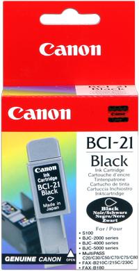 Canon bci-21bk cartuccia nero