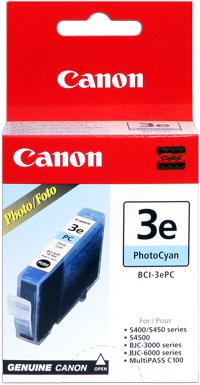 Canon bci-3ec cartuccia cyano 390p