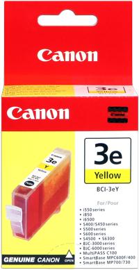 Canon bci-3ey cartuccia giallo 390p