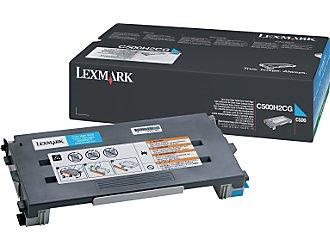 Lexmark c500h2cg toner cyano 3.000p