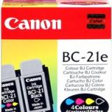 toner e cartucce - bc-21e testina di stampa originale multicolor