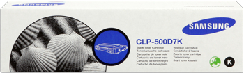Samsung clp-500d7k toner nero, durata 7.000 pagine