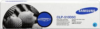 Samsung clp-510d5c toner cyano, durata 5.000 pagine